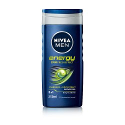 NIVEA MEN® Energy Shower Gel 250ml