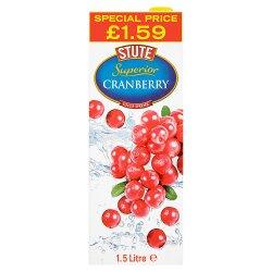 Stute Superior Cranberry Juice Drink 1.5 Litre