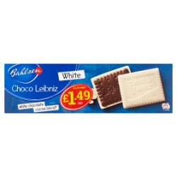 Bahlsen White Choco Leibniz 125g