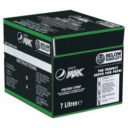 Pepsi Max Postmix Syrup 7 Litres