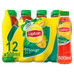 Lipton Mango Ice Tea 12 x 500ml