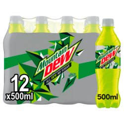 Mountain Dew Sugar Free Citrus Flavour 500ml