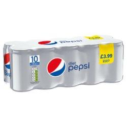 Pepsi Diet 10 x 330ml