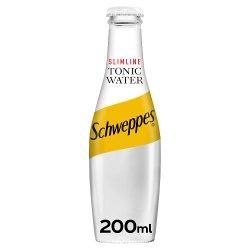Schweppes Slimline Tonic Water 200ml