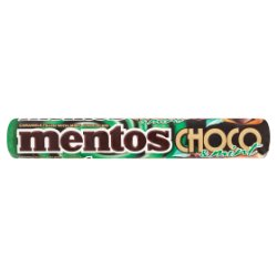 Mentos Choco and Mint Roll 38g
