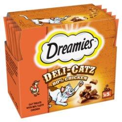 DREAMIES Deli-Catz Cat Treats with Chicken 5 x 5g