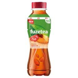 Fuze Tea Peach and Hibiscus 400ml PMP £1