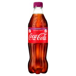 Coca-Cola Original Taste Cherry PM £1.25 500ml