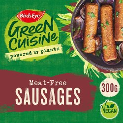 Birds Eye Green Cuisine Meat-Free Sausages 300g