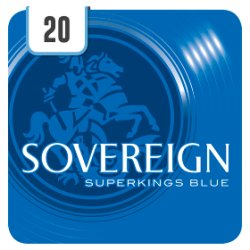 Sovereign Blue Superkings 20 Cigarettes