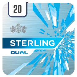 Sterling Dual New 20 Cigarettes