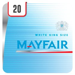 Mayfair White 20 Cigarettes Track & Trace Compliant