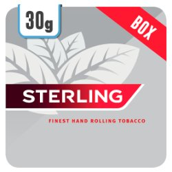 Sterling 30g 2 in 1 Rolling Tobacco