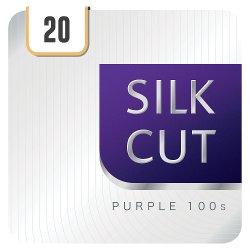 Silk Cut Purple 100s 20 Cigarettes