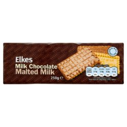 Elkes Milk Chocolate Malted Milk 250g