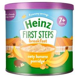 Heinz 7+ Months First Steps Oaty Banana Porridge 240g
