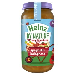 Heinz 7+ Months By Nature Spaghetti Bolognese 200g