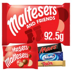 Maltesers and Friends Small Christmas Selection Pack 92.5g