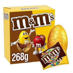 M&M's Chocolate & Peanut Large Easter Egg 268g