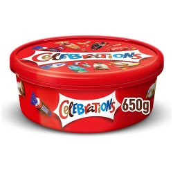 Celebrations Chocolate Tub 650g