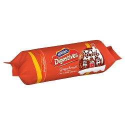 McVitie's Digestives Gingerbread Milk Chocolate Biscuits 250g