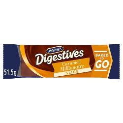 McVitie's Digestives Caramel Millionaire Slice 51.5g