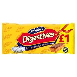 Digestive Caramel Slices £1.00