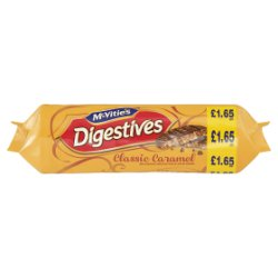 McVitie's Digestives Classic Caramel Biscuits 267g