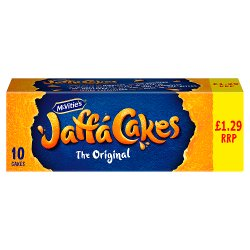 McVitie's Jaffa Cakes Original Biscuits £1.29 PMP 10 Pack