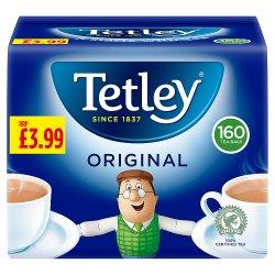 Tetley Tea Bags W/S 4 x 3 x 160 PMP
