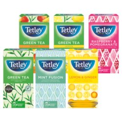 Tetley Fruit & Herbal Variety Pack Tea Bags x25
