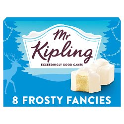 Mr Kipling 8 Frosty Fancies
