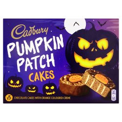 Cadbury Pumpkin Patch Cakes 5pk