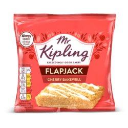Mr Kipling Cherry Bakewell Flapjack