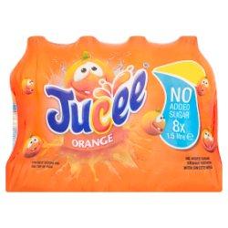 Jucee No Added Sugar Orange Squash 8 x 1.5 Litre