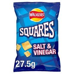 Walkers Squares Salt & Vinegar Snacks