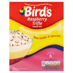 Bird's Raspberry Trifle Flavour Mix 141g