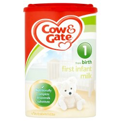 Cow & Gate 1 First Infant Milk from Birth 900g