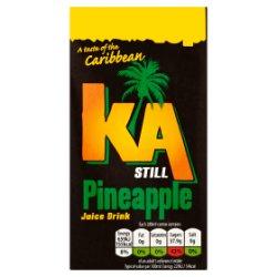 KA Still Pineapple 288ml Carton