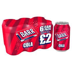 Barr Cola 6 x 330ml, PMP £2