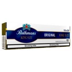 Rothmans Original King Size 10 x 20 Cigarettes