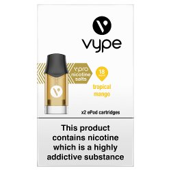 Vype vPro x2 ePod Cartridges Tropical Mango 18mg/ml