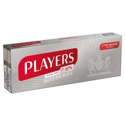 Jps Players Superking Real Red (Plain)