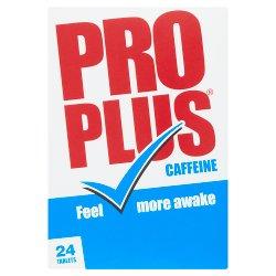 Pro Plus Caffeine 24 Tablets