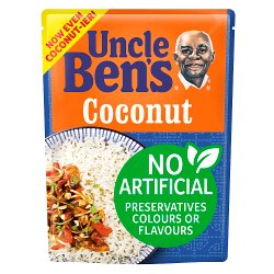 Uncle Bens Coconut Microwave Rice 250g