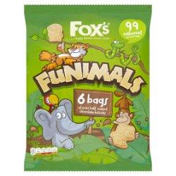 Fox's Funimals 6 x 22g
