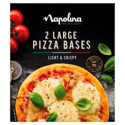 Napolina Large Pizza Bases 2 x 150g (300g)