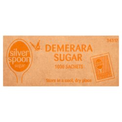 Silver Spoon Demerara Sugar 1000 Sachets