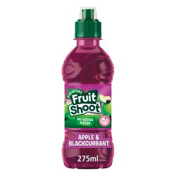 Robinsons Fruit Shoot No Added Sugar Apple & Blackcurrant 12 x 275ml