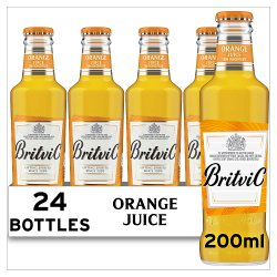 Britvic Orange Juice From Concentrate 24 x 200ml